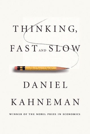 Cover for Thinking, Fast and Slow, by Daniel Kahneman