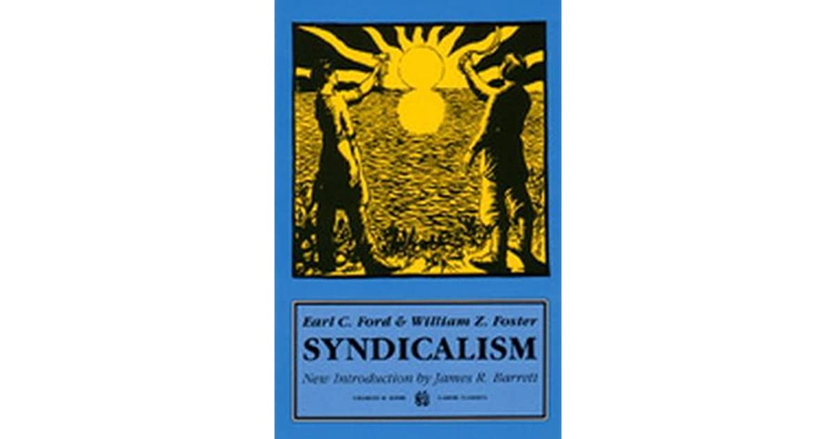 Syndicalism by william z foster fandeluxe Gallery