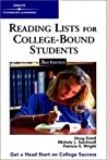 Reading Lists for College Bound Students by Doug Estell