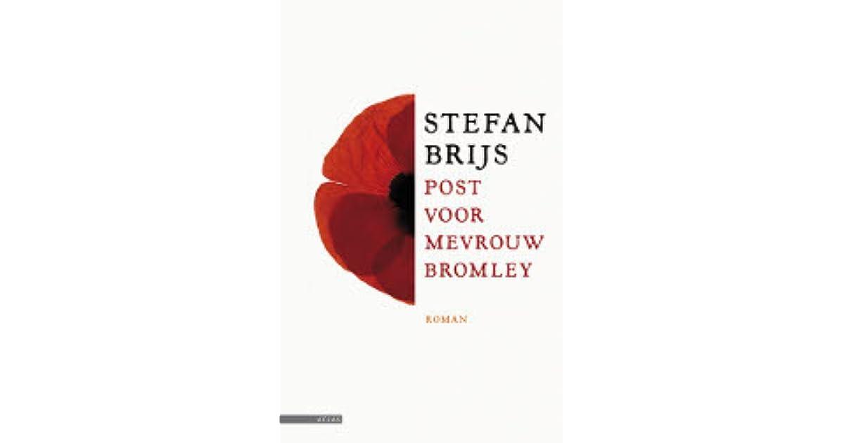 Citaten Post Voor Mevrouw Bromley : Post voor mevrouw bromley by stefan brijs