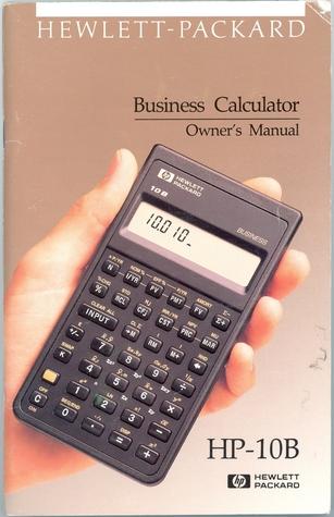 Hp 10b Hewlett Packard Business