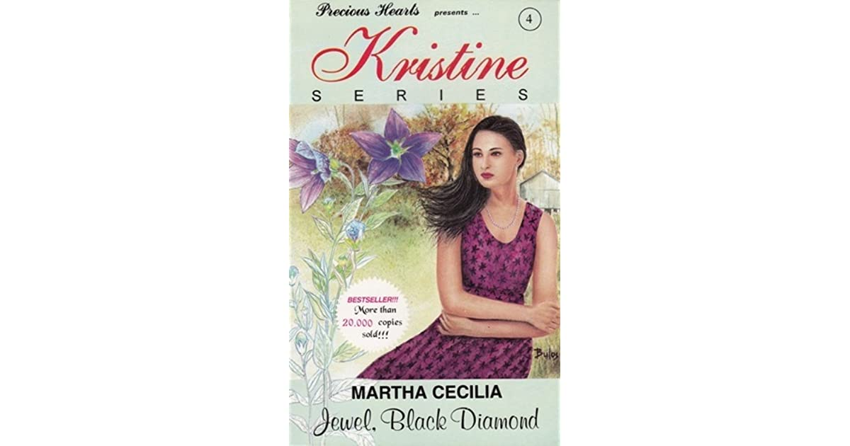 Kristine Series 4 Jewel Black Diamond By Martha Cecilia