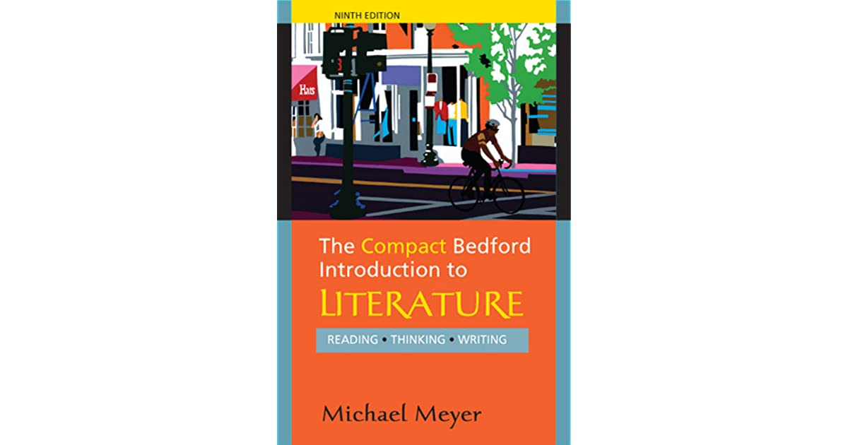 The Bedford Introduction To Literature 9th Edition Pdf