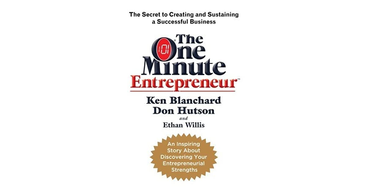 the one minute entrepreneur pdf