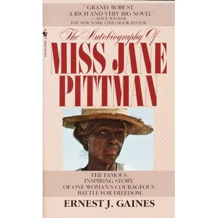 Essays on the autobiography of miss jane pittman