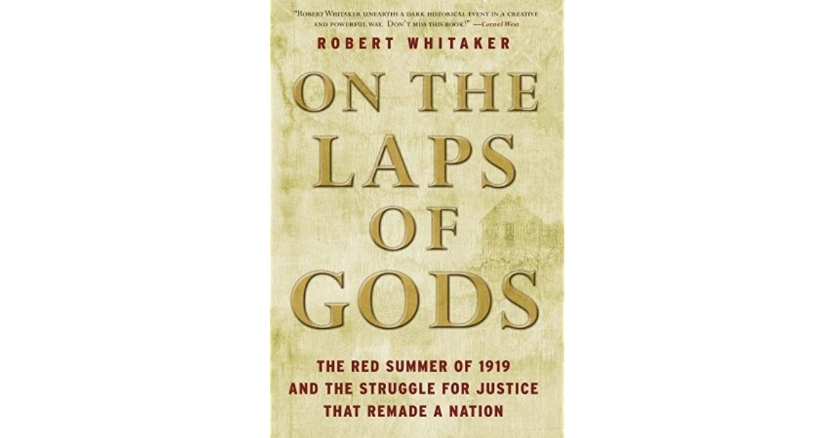 On The Laps Of Gods The Red Summer Of 1919 And The Struggle For
