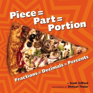 Piece = Part = Portion: Fractions = Decimals = Percents