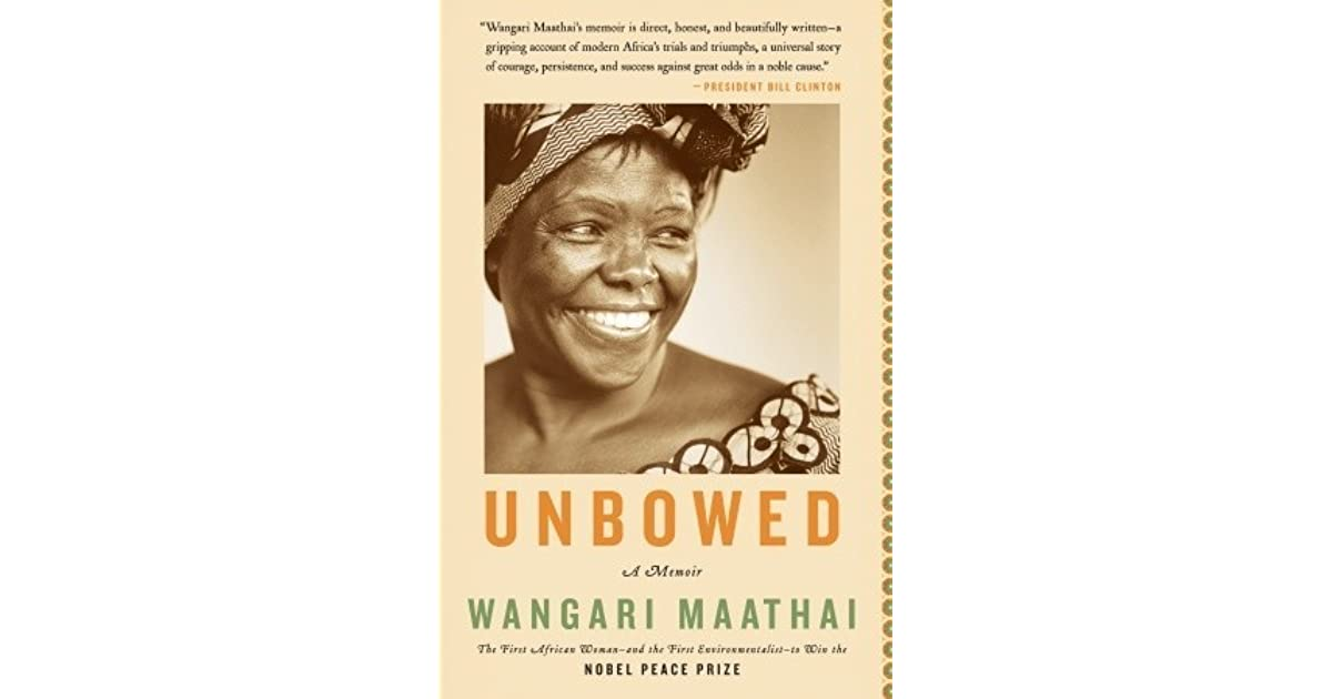 unbowed a memoir character study