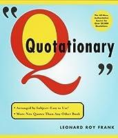Random House Webster's Quotationary