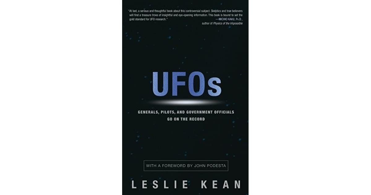 UFOs: Generals, Pilots and Government Officials Go on the