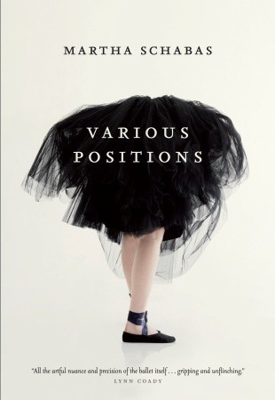 """Book cover of """"Various Positions"""" by Martha Chabas"""