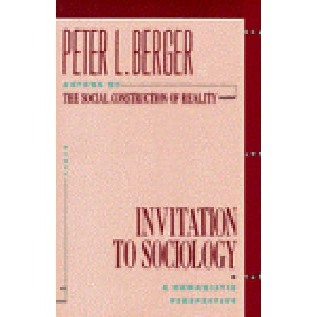 peter l berger invitation to sociology The passive voice 26  the third present tense form uses a conjugation of to do (do, does) with the verb  vera was su.