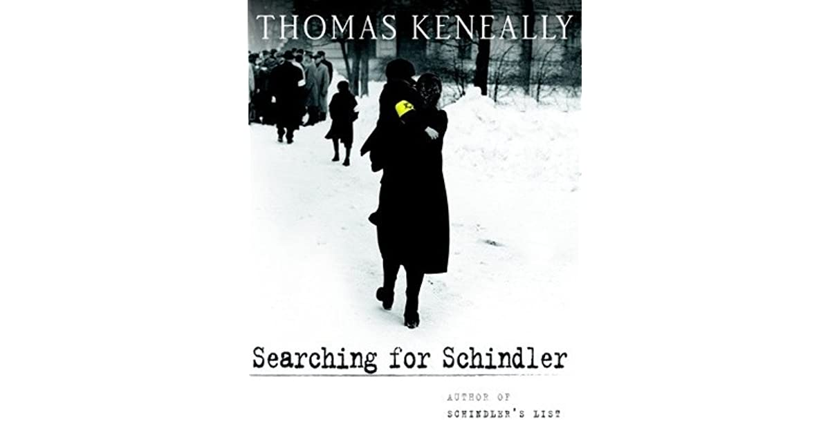 searching for schindler a memoir by thomas keneally