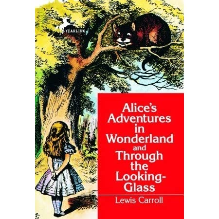 the origin of lewis carrolls alices adventures in wonderland and through the looking glass Project gutenberg's alice's adventures in wonderland, by lewis carroll this  ebook  first, she tried to look down and make out what she was coming to, but it  was too  not possibly reach it: she could see it quite plainly through the glass,  and she  (for, with all her knowledge of history, alice had no very clear notion  how.
