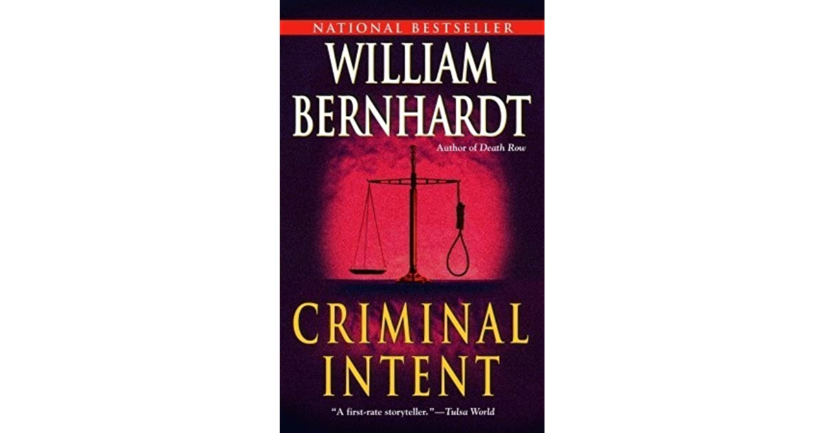 criminal intent essay