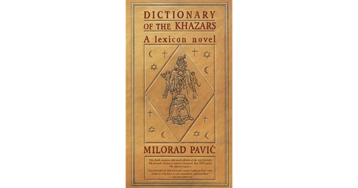 Dictionary of the khazars by milorad pavi fandeluxe Images