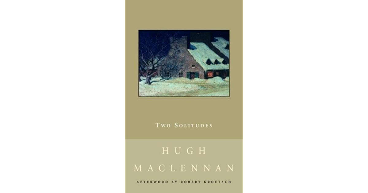 two solitudes new canadian library paperback