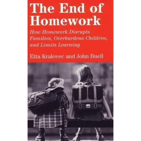 the end of homework by etta kralovec and john buell