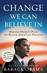 Change We Can Believe In by Barack Obama