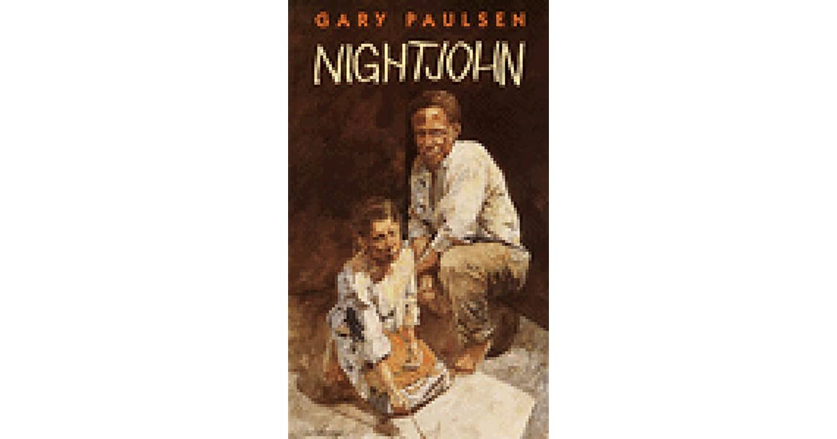 an analysis of the concept of slavery in the novel nightjohn by gary paulsen Nightjohn is a young adult novel by gary paulsen, first published in 1993 it is about slavery in the american south shortly before the time of the american civil war.