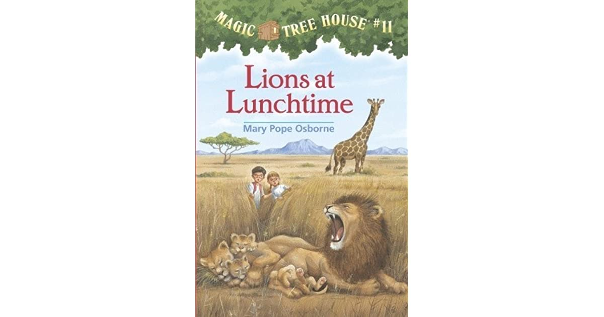 lions at lunchtime book report