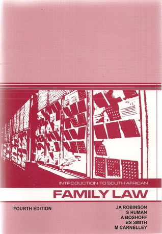 Introduction to South African Family Law