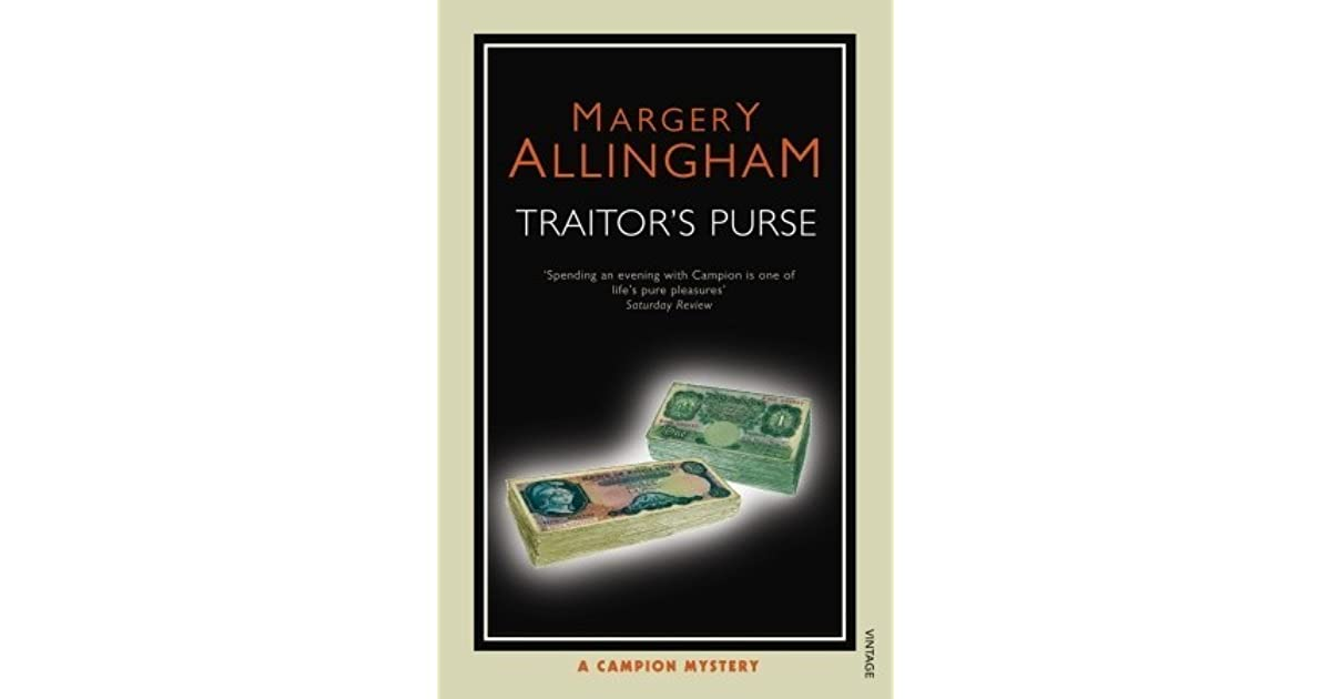Traitors Purse by Margery Allingham