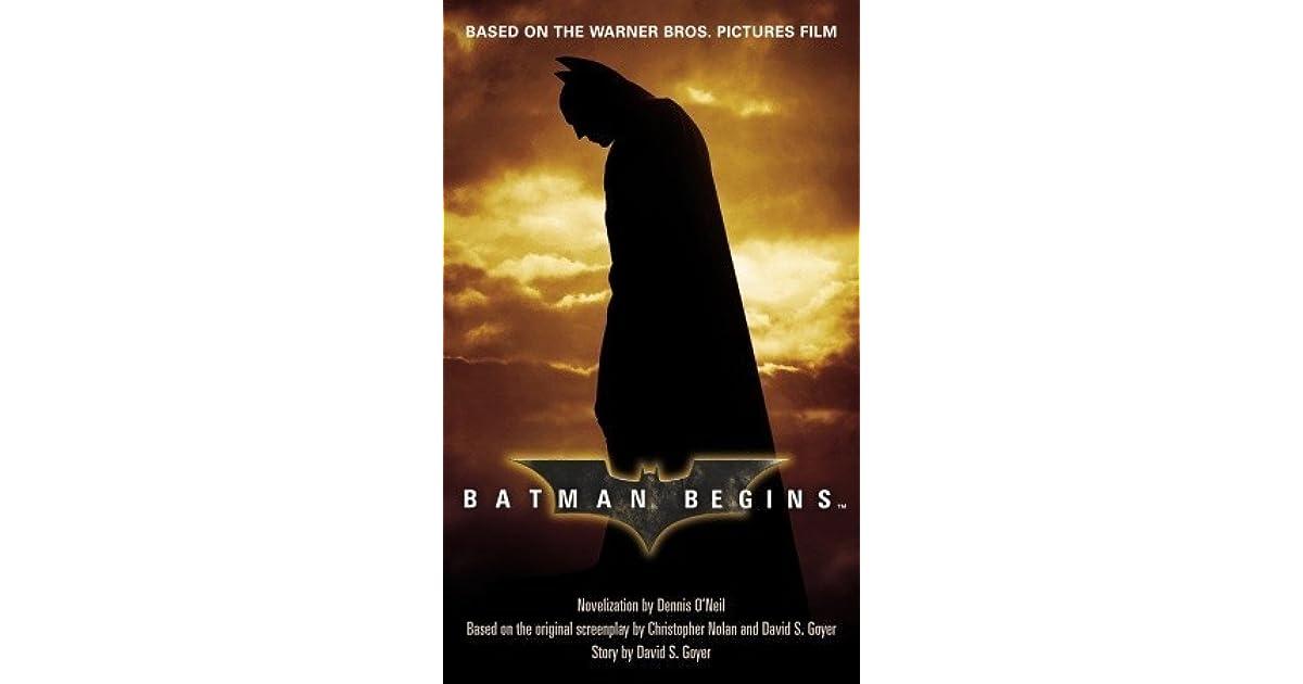 Batman Begins Script Pdf