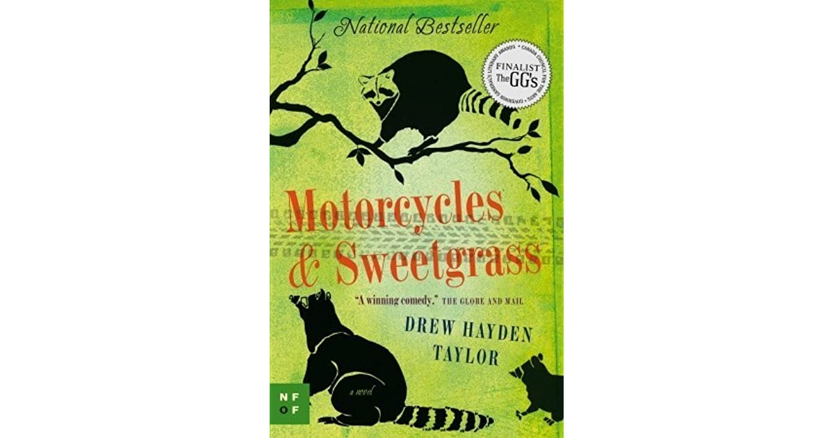 motorcylces and sweetgrass