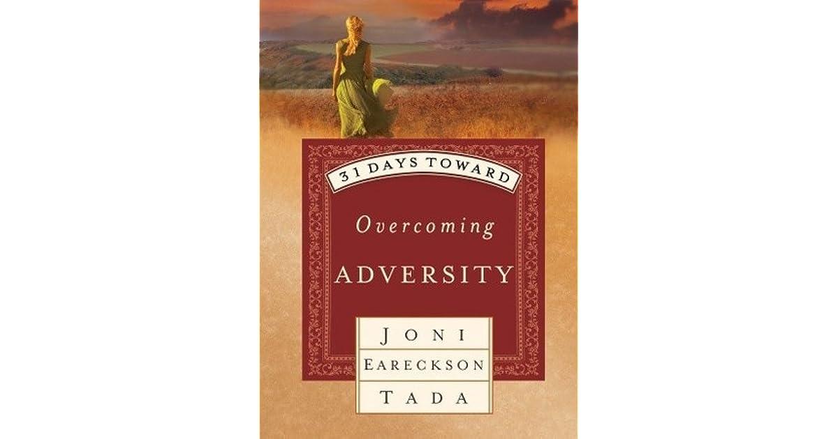 31 days toward overcoming adversity tada joni eareckson