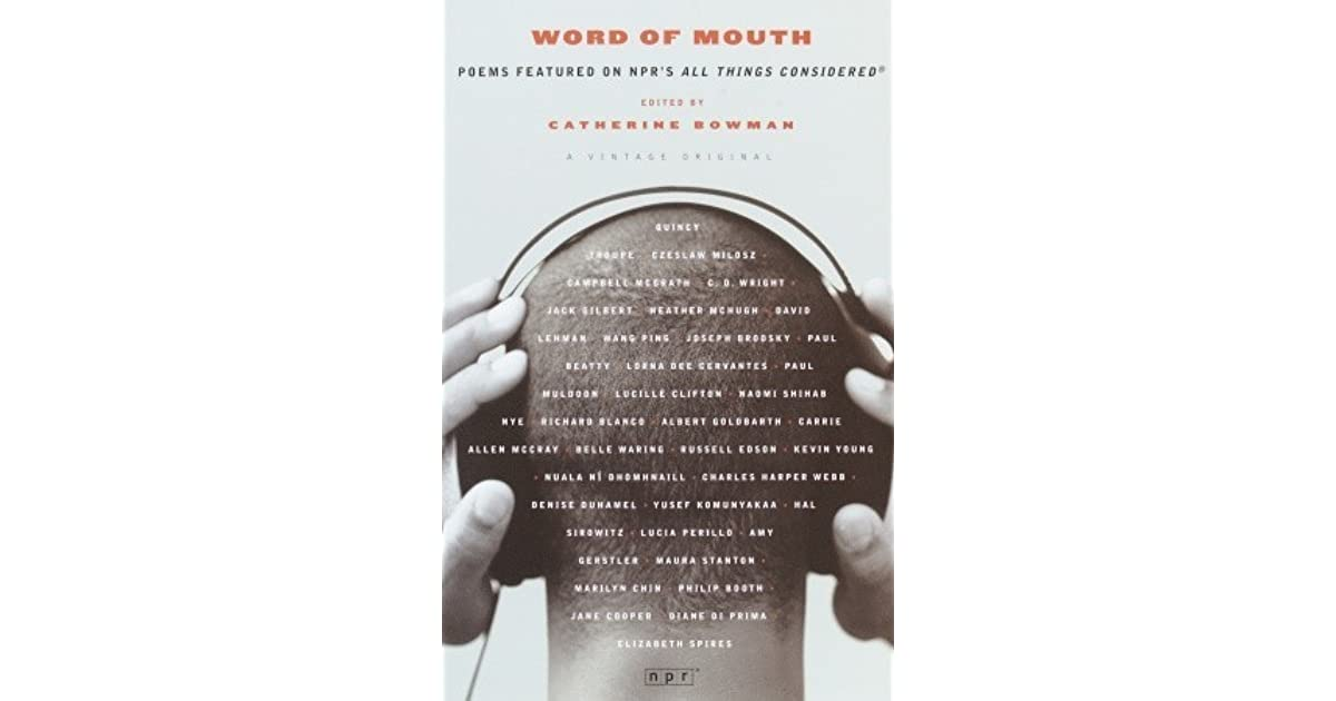 Word of Mouth: A Poetry Compilation
