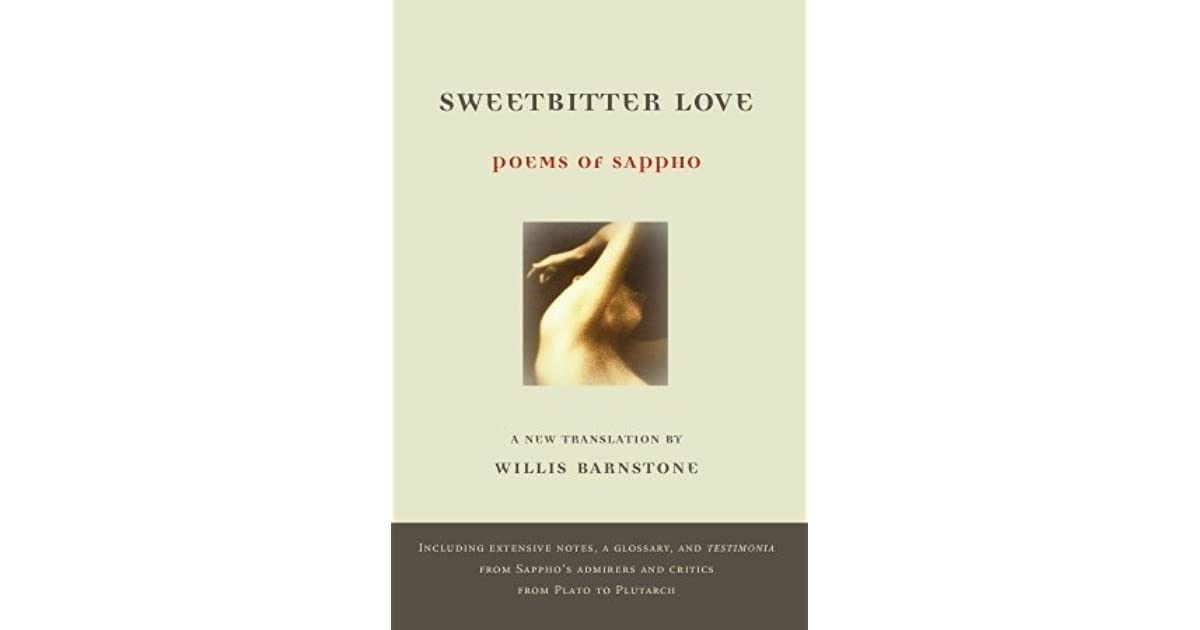 Sweetbitter love poems of sappho by sappho fandeluxe Choice Image