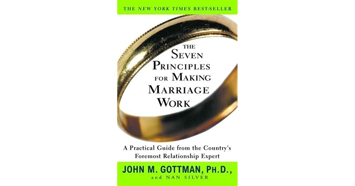 Charlie Parramore's review of The Seven Principles for Making Marriage Work