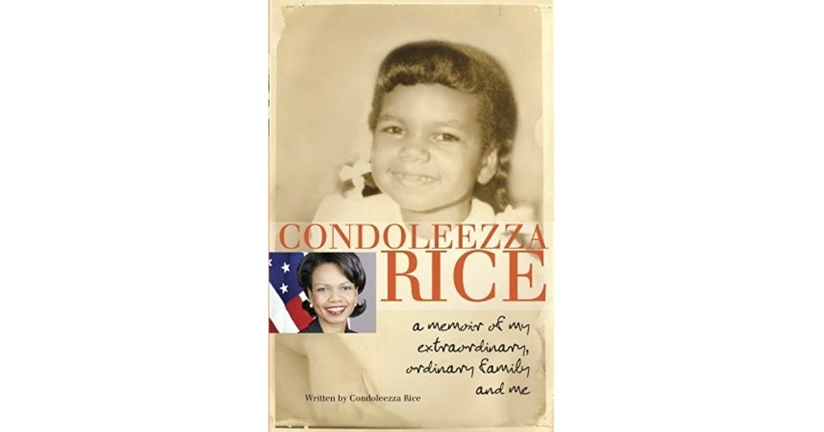 condoleezza rice plans new book is it a condoleezza rice a memoir of my extraordinary ordinary