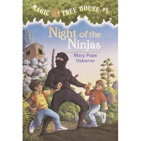 books with ninjas in them