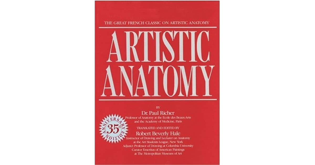 Artistic Anatomy: The Great French Classic on Artistic Anatomy by ...