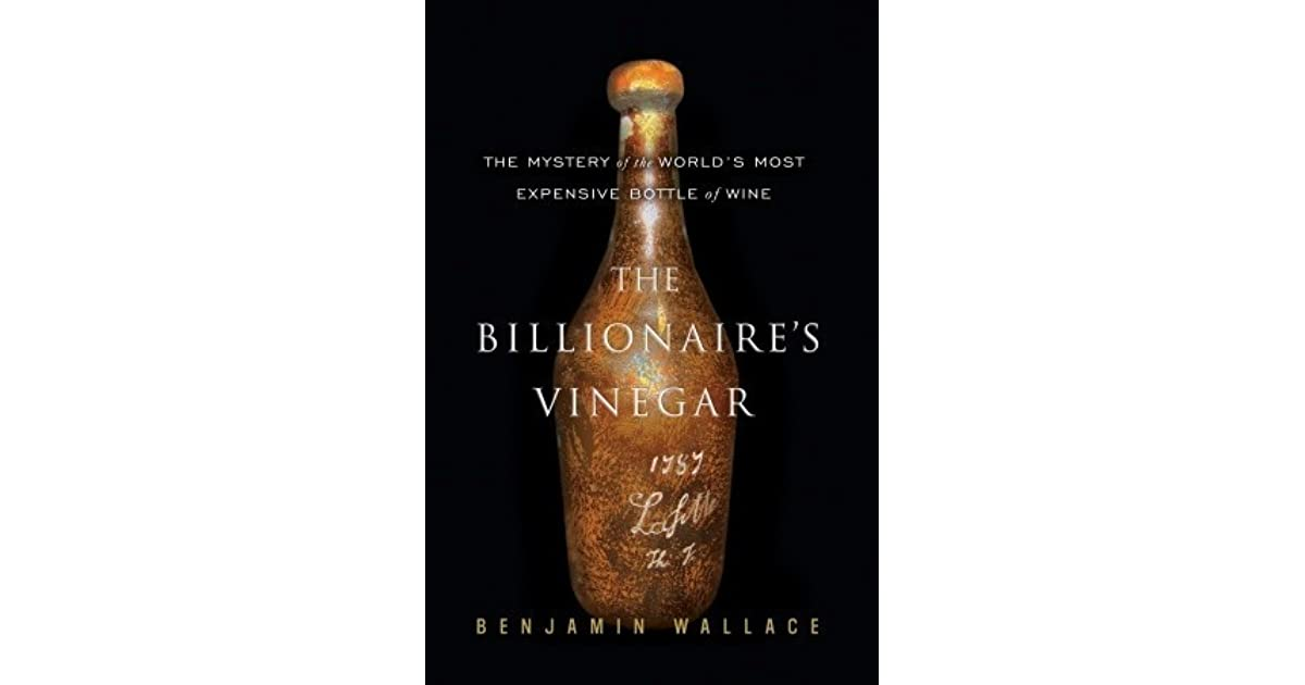 Billionaires vinegar goodreads giveaways