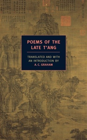 Poems of the Late T'ang