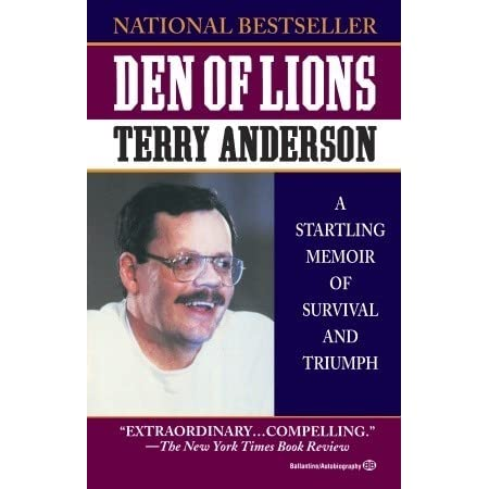 a book review of terry andersons den of lions