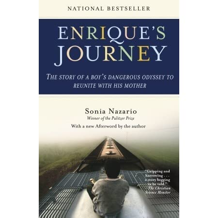 essay on enriques journey Enrique's journey is a national best-seller by sonia nazario about a 17-year-old boy from honduras who travels to the united states in search of his mother it was first published in 2006 by random house the non-fiction book has been published in eight languages,.