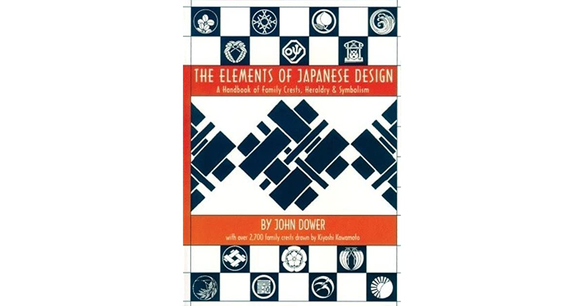 The Elements Of Japanese Design A Handbook Of Family Crests