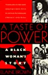 A Taste of Power: A Black Woman's Story pdf book review