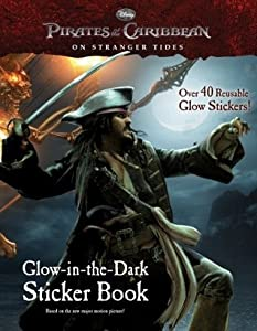 Pirates of the Caribbean: On Stranger Tides Glow-in-the-Dark Sticker Book