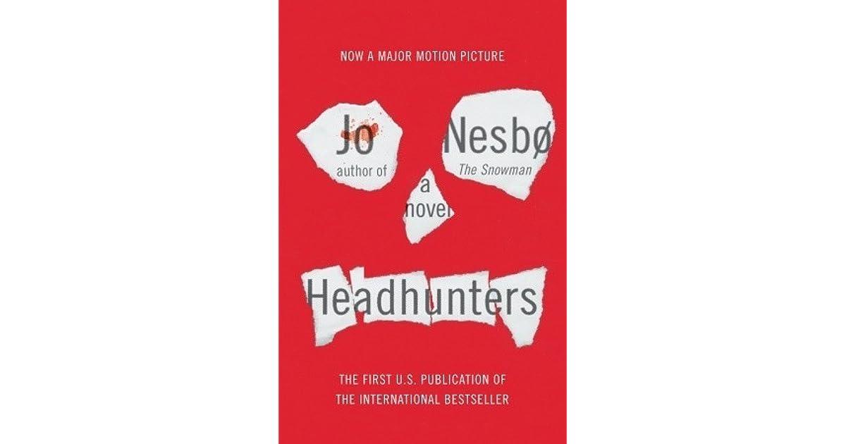 Jo Nesbo Headhunters Book