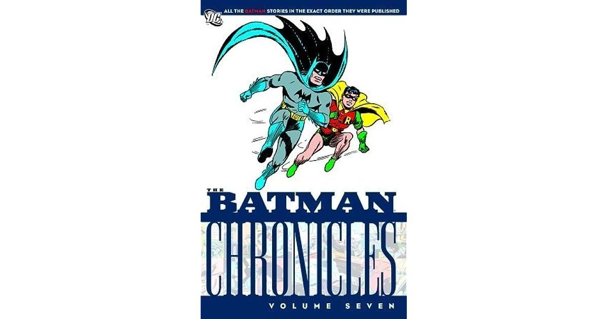 The Batman Chronicles, Vol  7 by Bill Finger