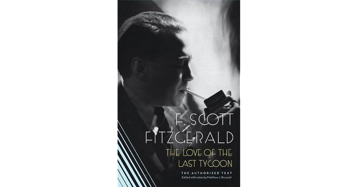 The love of the last tycoon plot summary