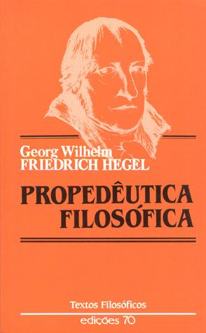The Philosophical Propaedeutic