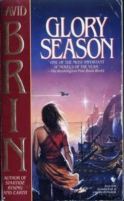 book cover for Glory Season