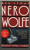 Death Times Three (Nero Wolfe)