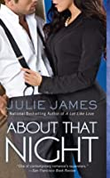 About That Night (FBI/US Attorney, #3)
